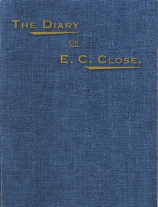 Diary of E.C Close